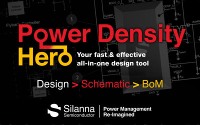 Silanna Semiconductor Launches Power Density Hero Online Design Tool